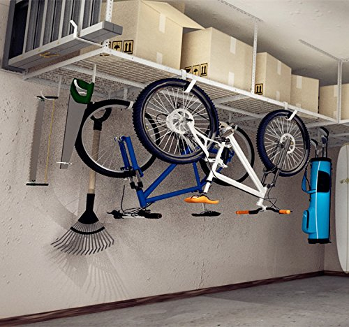 Save Space With The Top Overhead Storage Racks In 2018 Garage Tool