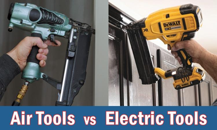 air tools vs cordless electric tools