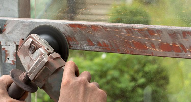 angle grinder for metal