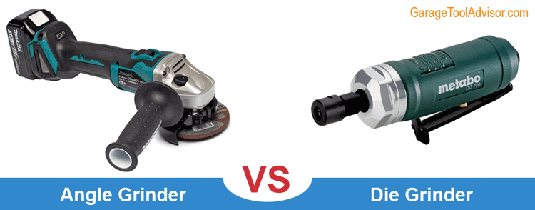 angle grinder vs die grinder