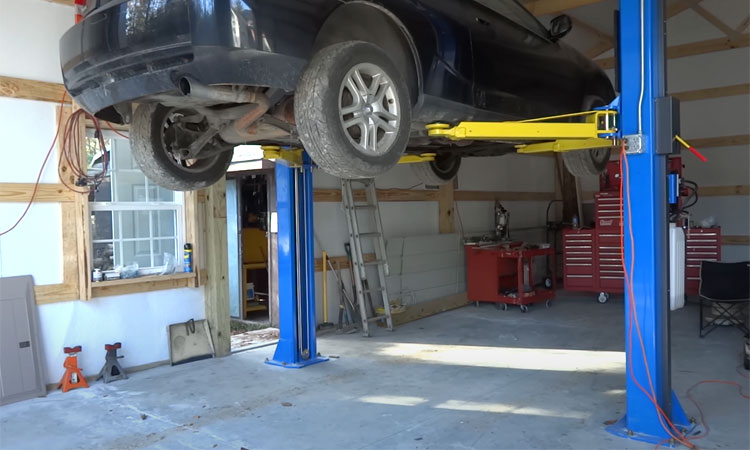 best 2 post car lifts