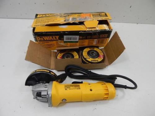 DeWalt angle grinder review