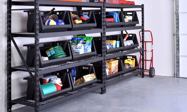 best heavy duty garage shelving