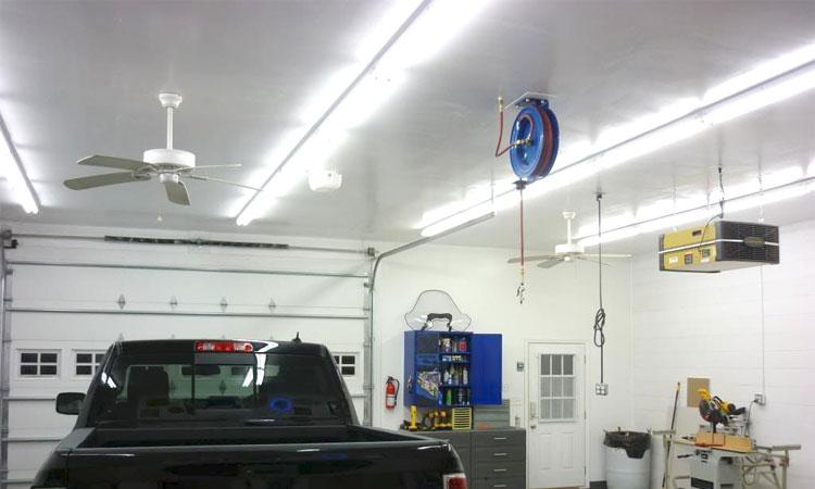 best interior garage lighting