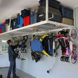 Save Space With The Top Overhead Storage Racks in 2018 | Garage Tool Advisor