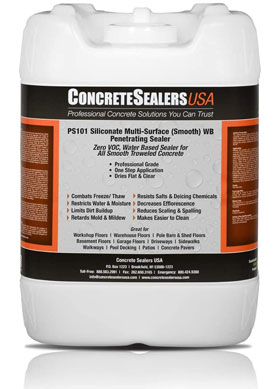 best penetrating concrete sealer