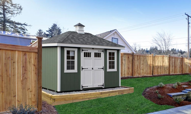 buy or build shed customization