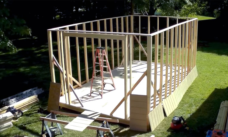 build shed time