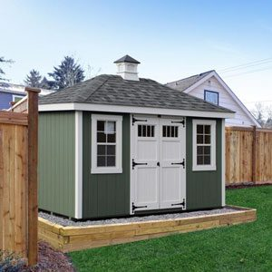 buy or build garden shed