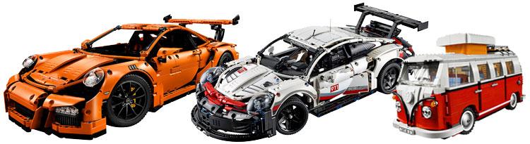 car Lego sets