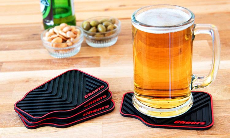 car drink coasters