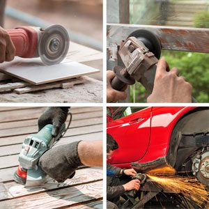 common uses for angle grinder