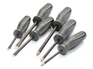 13c81776d01b4  4 – Craftsman Extreme Grip 6-Piece Diamond Tip Screwdrivers