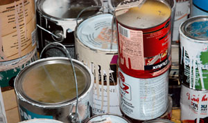 How to dispose of old gas paint or motor oil garage for How to dispose of empty paint cans