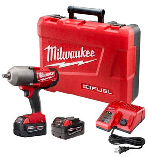4 Milwaukee 2763 22 M18 Impact Wrench Kit