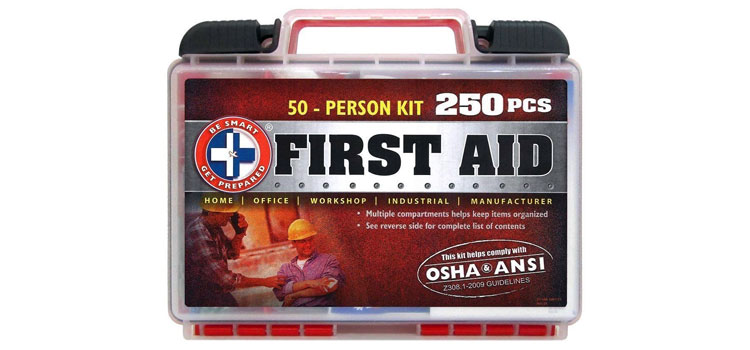 garage first aid kit