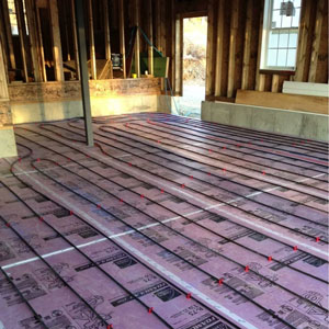 garage floor heating