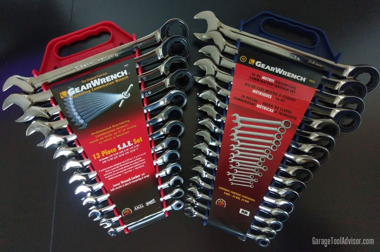GearWrench ratcheting wrenches
