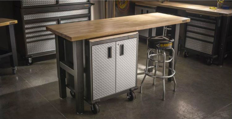 Gladiator 6 foot workbench review