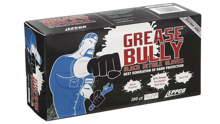 Grease Bully nitrile gloves