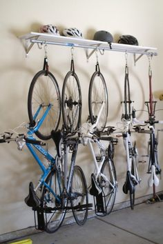 How To Hang Bike On Wall bike storage options | garage tool advisor