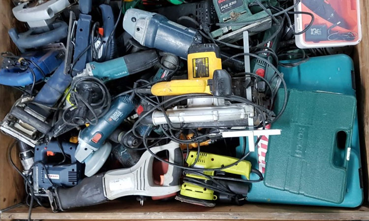 how to buy used power tools