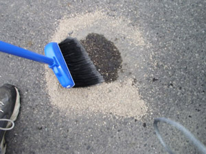 Clean oil from concrete floor gurus floor for Clean oil from concrete