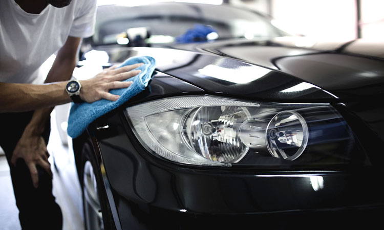 how to correctly detail car