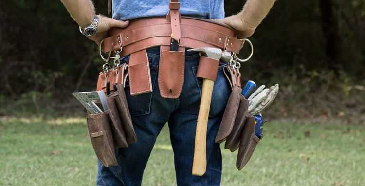 how to organize a tool belt