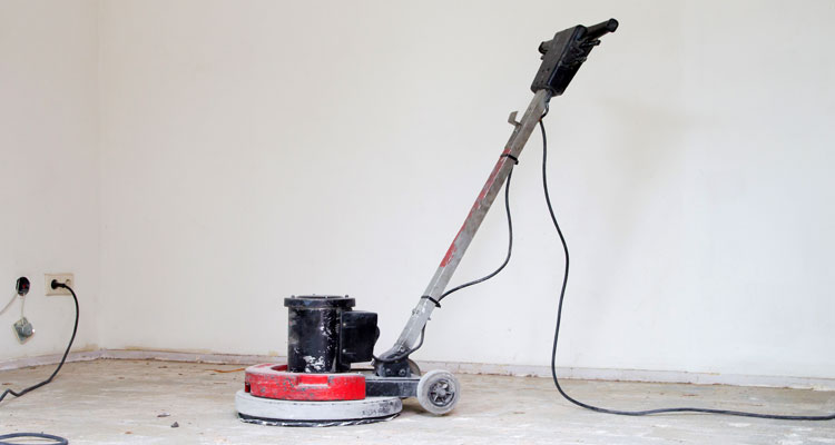 How To Sand Concrete By Hand Or With A