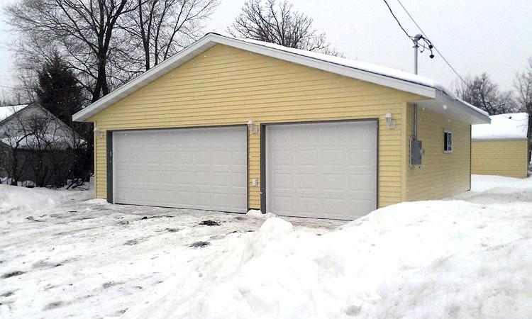 how to winterproof garage