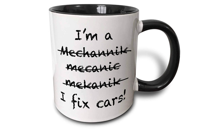 I'm a mechanic mug