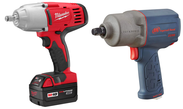 impact wrench power source