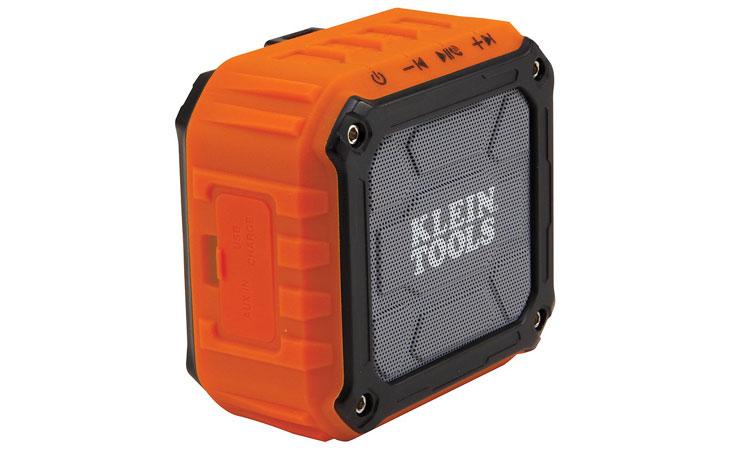 Klein Tools bluetooth speaker