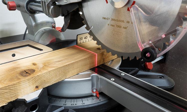 laser guide miter saw
