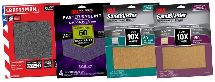 macro sandpaper grits