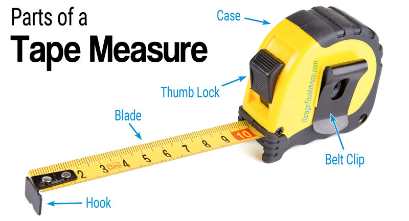 Peachy Parts Of A Tape Measure With Diagram Garage Tool Advisor Wiring Digital Resources Dimetprontobusorg