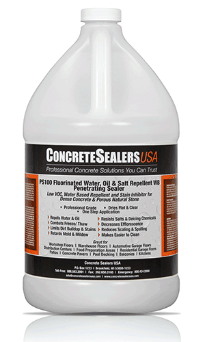 PS100 review concrete sealer