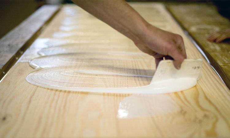 PVA glue to seal plywood