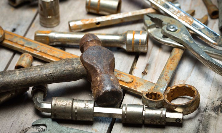 remove tool rust