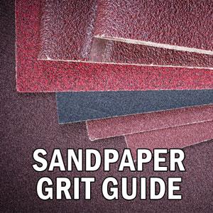 sandpaper grit chart