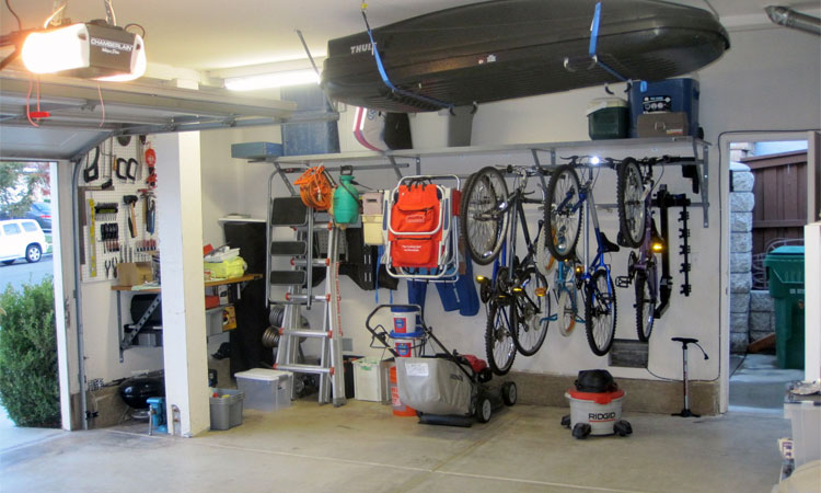 save space in a garage