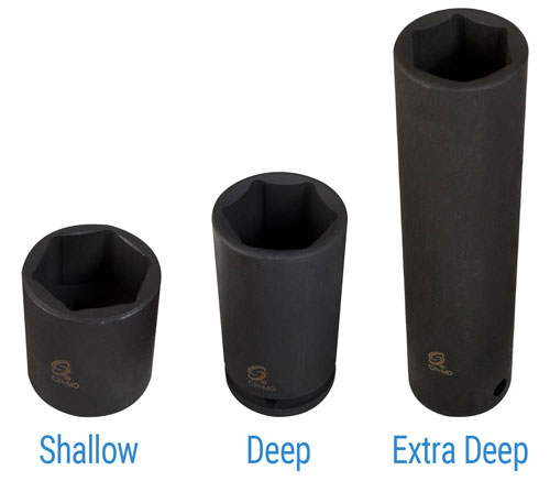 shallow vs deep impact sockets