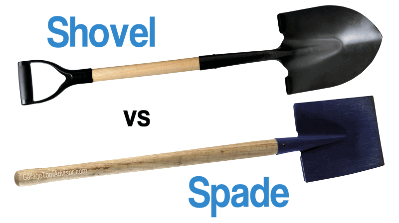 shovel vs spade difference