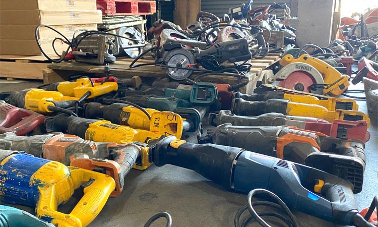stolen power tools