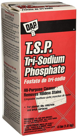TSP to clean pet urine