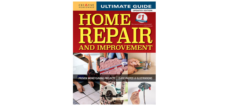 best home repair and improvement book