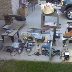used-tools-garage-sale