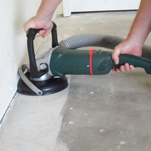 How To Sand Concrete By Hand Or With A Sander For That Perfect
