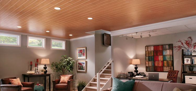 10 Cheap Basement Ceiling Ideas For Standard And Low Ceilings